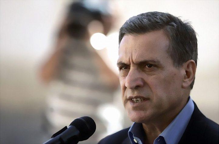 أبو ردينة يستقبل السفير الأردني