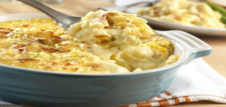 كبّة البطاطا المطبوخة مع ستيك فيلاديلفيا بالجبن