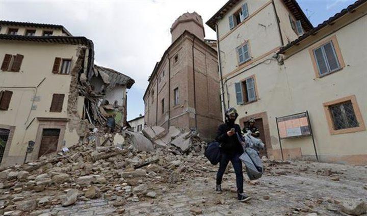 زلزال بقوة 4.8 درجة يضرب صقلية الإيطالية