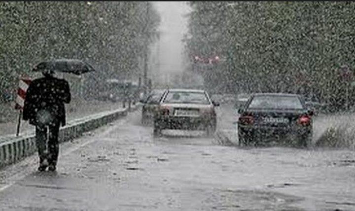 الطقس: منخفض جوي مصحوب بكتلة هوائية شديدة البرودة
