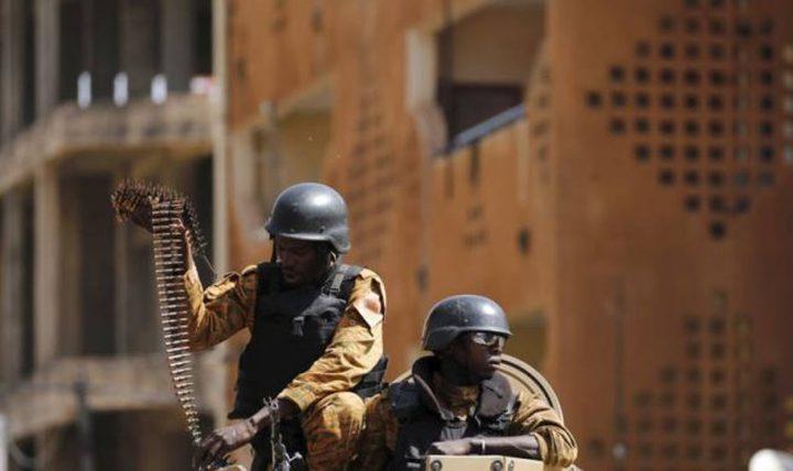 مقتل 10 رجال شرطة بكمين في بوركينا فاسو