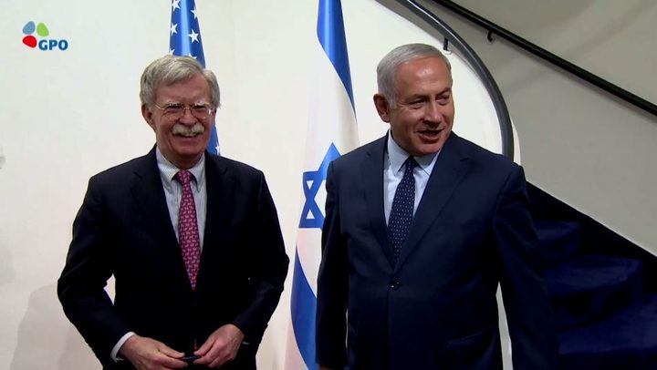 العاشرة العبرية:المستشار الأمريكي بولتون يزور الاحتلال قريبا