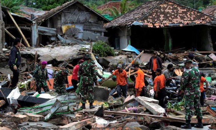 زلزال شدته 5.8 درجة يهز شرق اندونيسيا