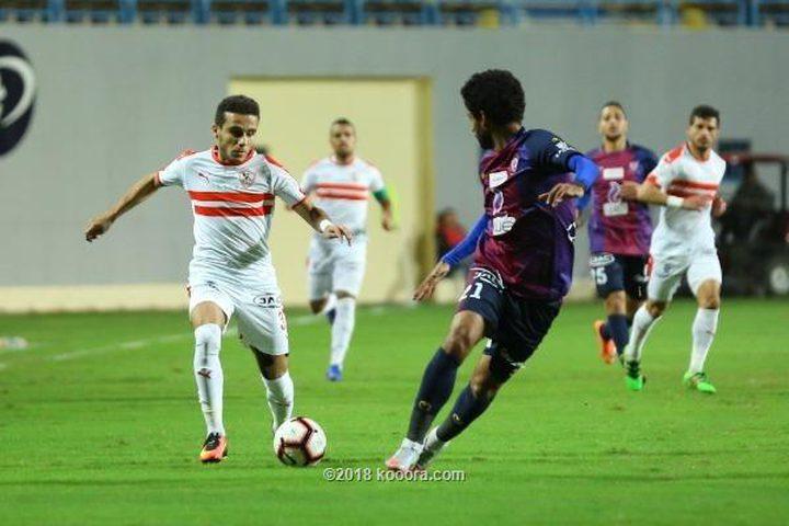 الزمالك يعزز تصدره للدوري المصري بالفوز على بتروجيت