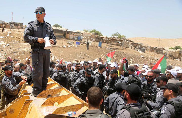 القوى في رام الله تدعو لشد الرحال لحماية الخان الأحمر