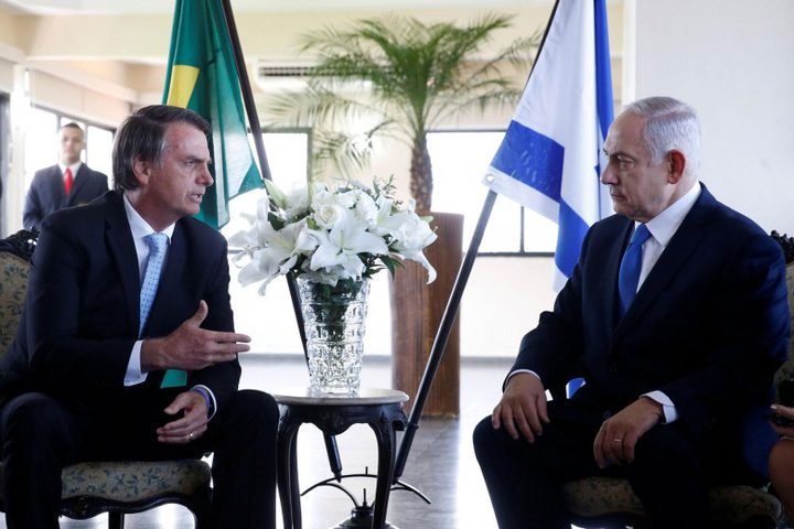 مسؤول إسرائيلي: نقل السفارة البرازيلية إلى القدس مسألة وقت