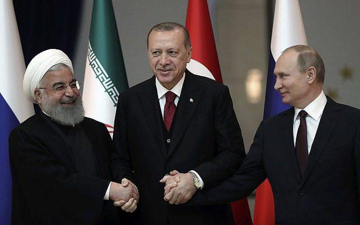 روسيا تستضيف قمة (بوتين-أردوغان-روحاني) حول سوريا