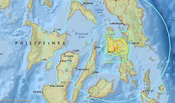 زلزال عنيف في الفلبين.. وتحذيرات من موجات تسونامي عملاقة