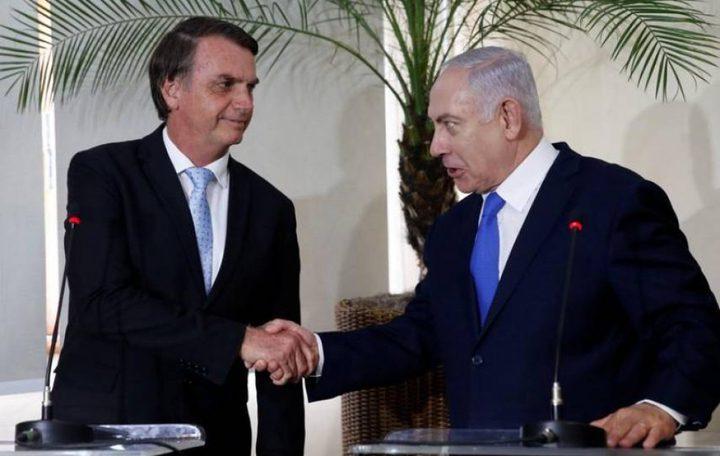 """الرئيس البرازيلي لنتنياهو: نقل السفارة للقدس """"مسألة وقت"""""""