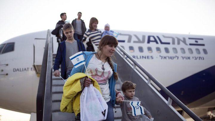 """أكثر من 29 ألف مهاجر وصلوا لـ""""إسرائيل"""" خلال 2018"""