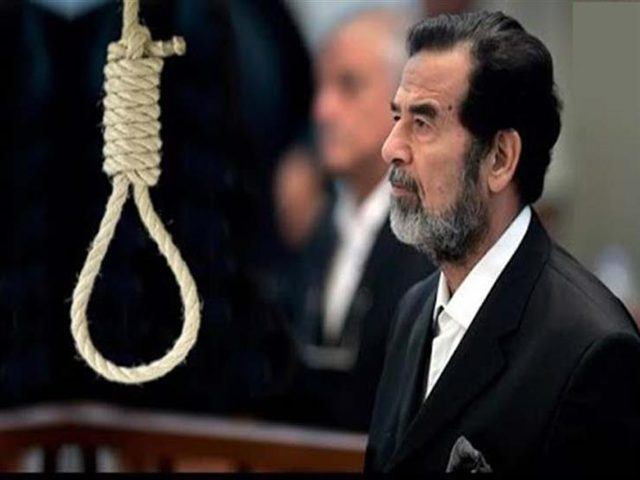 رغد صدام حسين تنشر الكلمات الأخيرة للرئيس الراحل قبل إعدامه