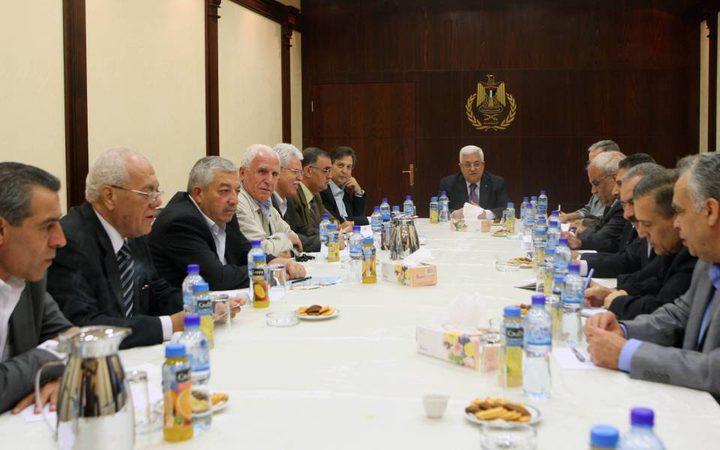 اللجنة المركزية لحركة فتح تعقد اجتماعا اليوم