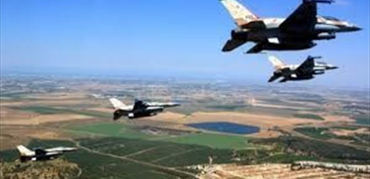 طيران حربي وزوارق للاحتلال الإسرائيلي بأجواء ومياه لبنان