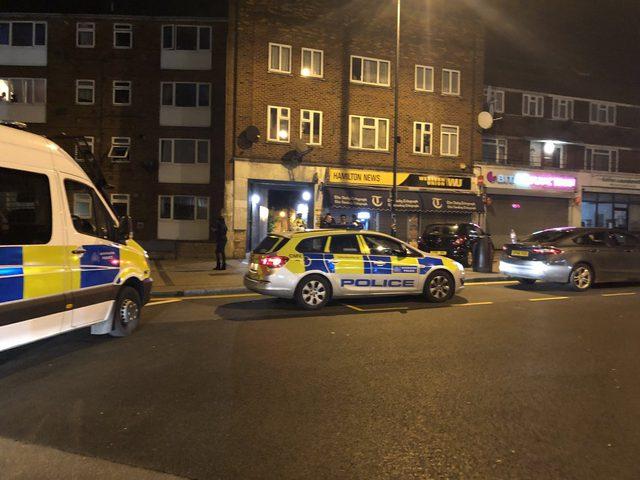 """إصابة شخص في إطلاق نار بــ """"لندن"""""""