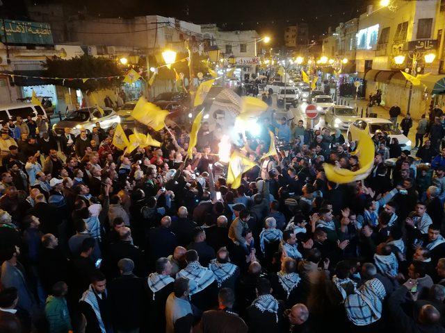 إيقاد شعلة الذكرى الـ54 لانطلاقة الثورة في نابلس