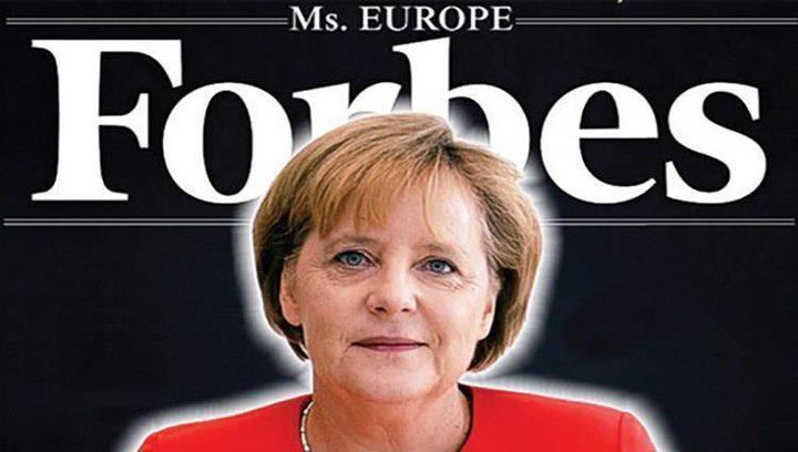 للسنة الثامنة.. ميركل أقوى امرأة في العالم