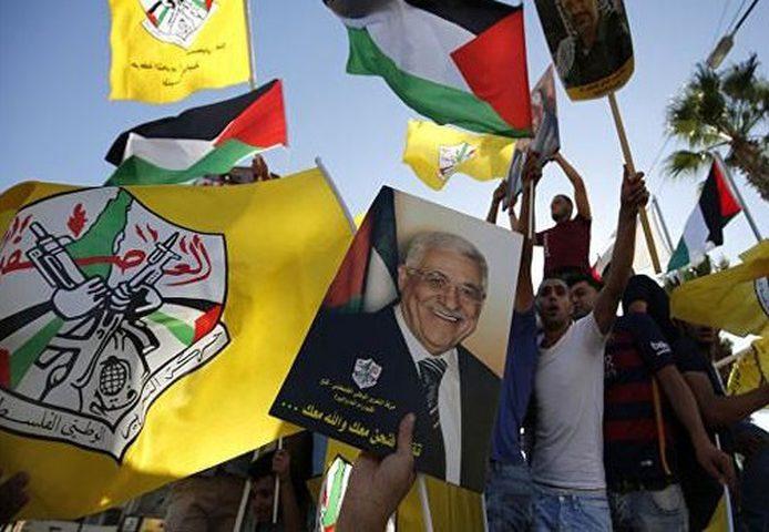 ايقاد شعلة الانطلاقة الـ54 لحركة فتح والثورة الفلسطينية