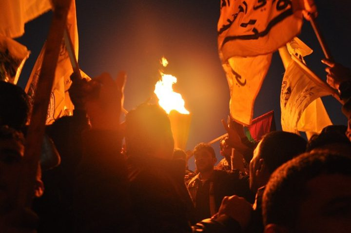 """إيقاد شعلة الانطلاقة الــ54 لحركة """"فتح"""" والثورة الفلسطينية"""