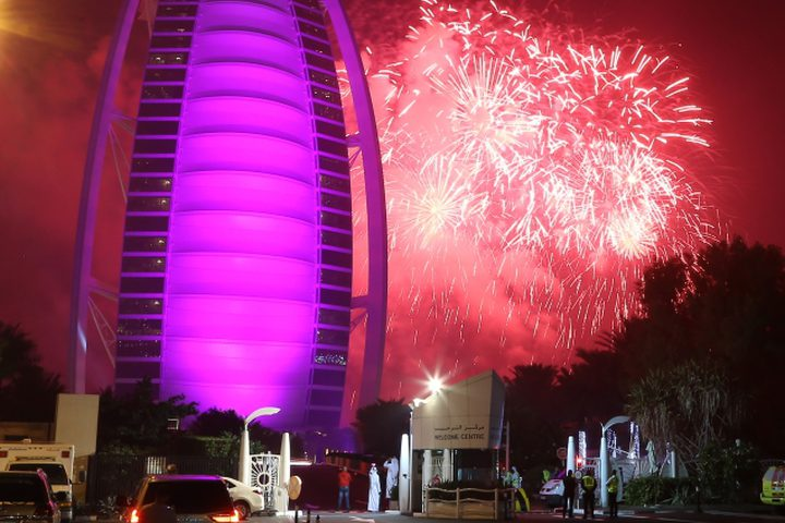 احتفالات رأس السنة حول العالم