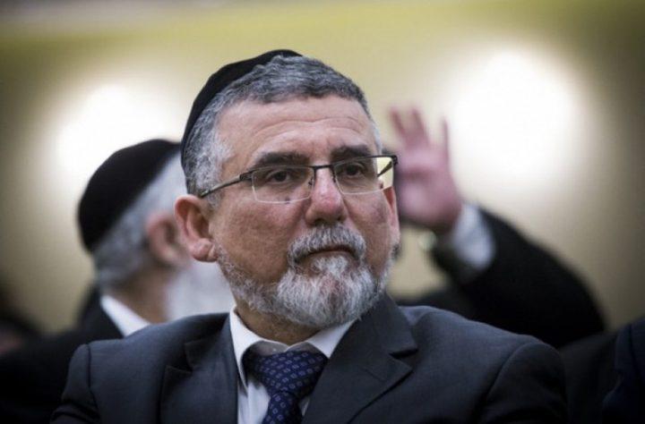"""تعيين فكنين وزيرا للشؤون الدينية بـ""""إسرائيل"""""""