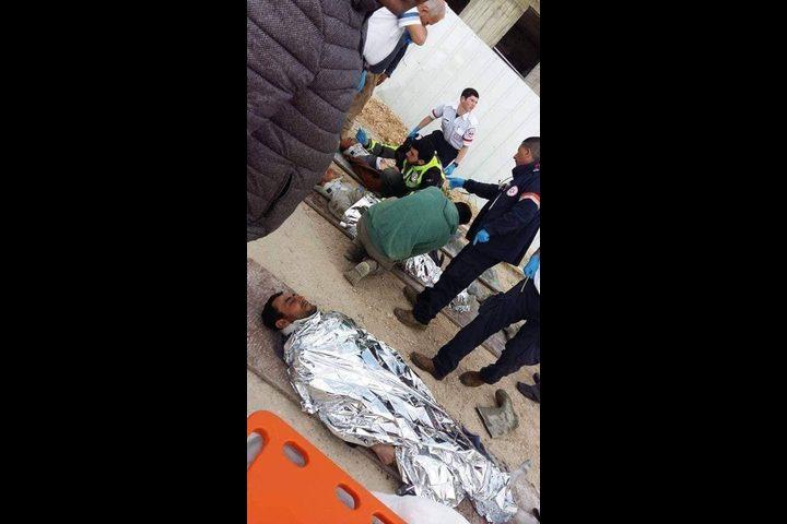 إصابة 3 عمال فلسطينيين من رام الله وبديا غرب سلفيت