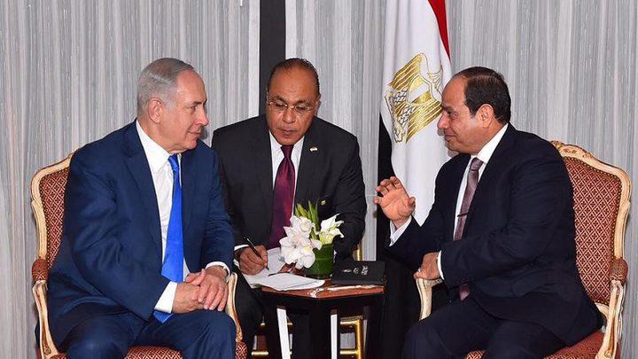 اجتماع مرتقب بين السيسي ووزير إسرائيلي في القاهرة