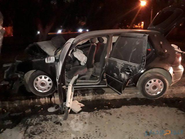 مصرع 5 أشخاص وإصابة 591 آخرين في 887 حادث سير الشهر الماضي