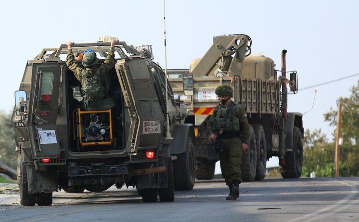 سلطات الاحتلال توقف البناء في منزل وغرفة زراعية غرب بيت لحم