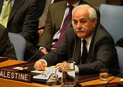 منصور: ندعو المجتمع الدولي لمحاسبة إسرائيل ليكون العام الجديد عام إنهاء الاحتلال