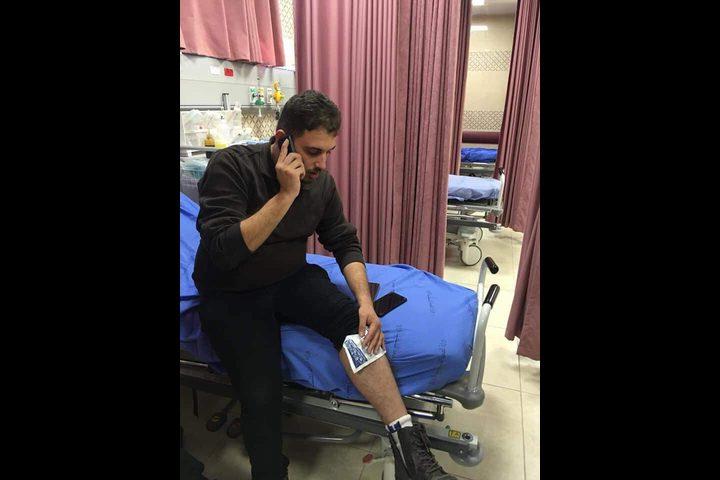 قوات الاحتلال تقتحم نابلس وتصيب صحفيا ومسعفاً