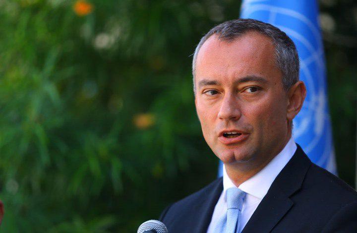 ملادينوف: هجوم المستوطنين على موكب الحمد الله حادث مقلق