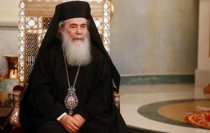 الاتفاق على قرار موحّد بمقاطعة استقبال البطريرك ثيوفيلوس
