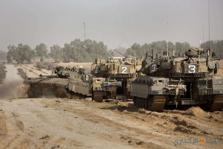 توغل لآليات الاحتلال جنوب قطاع غزة