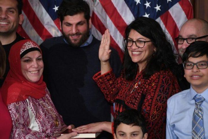 نائبة أميركية من أصول فلسطينية تشتم ترامب وتتوعد بإقالته