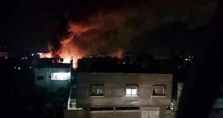 انفجار يهُزّ غرب مدينة رفح وأنباء أولية عن اصابات