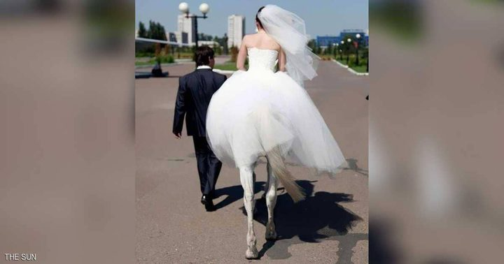 """باريدوليا.. """"المرأة الفرس"""" تتزوج"""