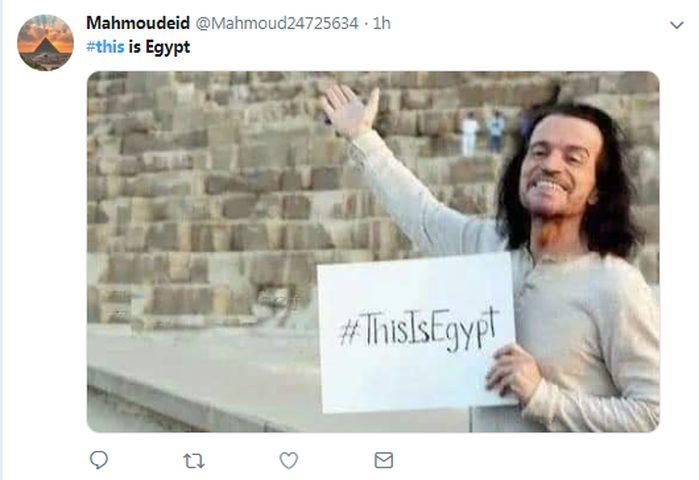 هاشتاج This is Egypt يتصدر تويتر بعد حادث المريوطية الإرهابي