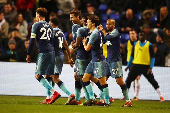 توتنهام أول المتأهلين إلى الدور الرابع من كأس انكلترا