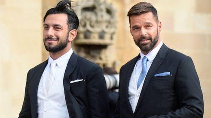 ريكي مارتن يعلن أنه أصبح أبا لطفلة مع زوجه سوري الأصل.