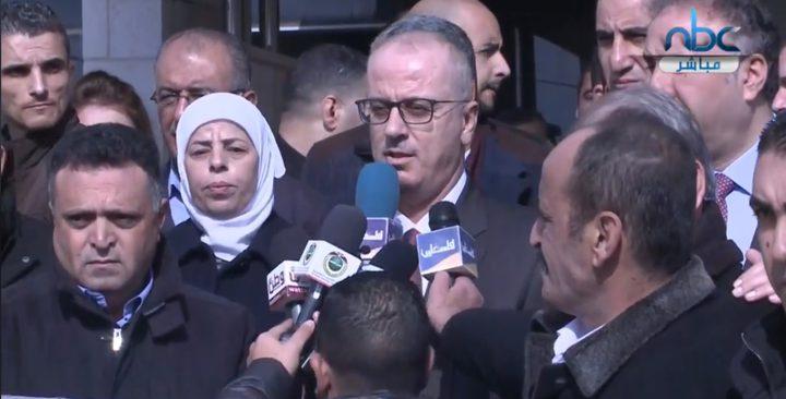 الحمدالله: تلفزيون فلسطين منبر من منابر السيادة الفلسطينية
