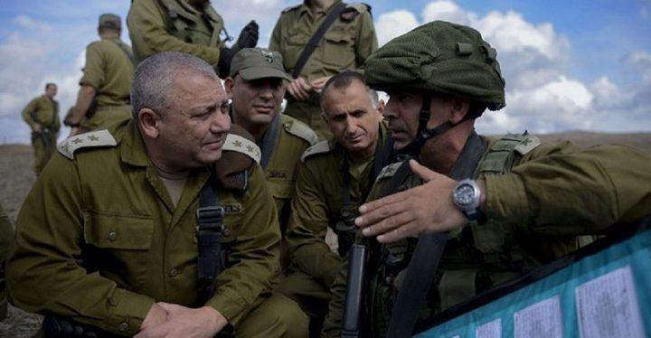 الإعلام العبري: آيزنكوت تبنى خطًا منضبطًا نسبيًا مع غزة
