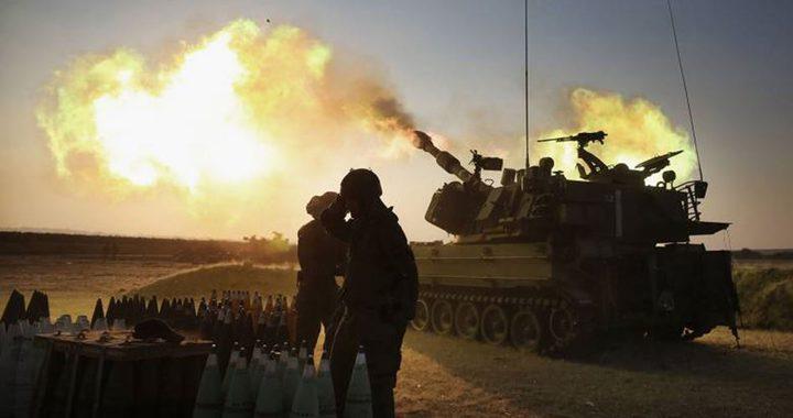 الاحتلال يقصف نقاط رصد للمقاومة شرق قطاع غزة