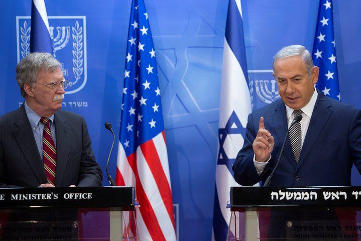 نتنياهو يطلب من أمريكا ضم الجولان السورية