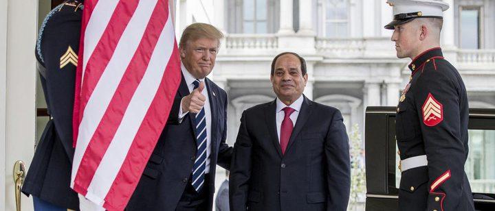 ترامب: السيسي يقود مصر إلى مستقبل يتسع للجميع
