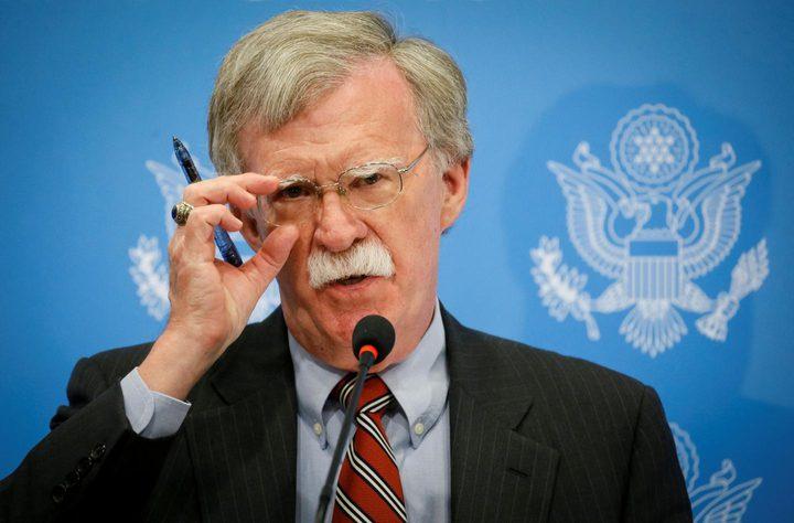 بولتون:لا نريد أن تتحرك تركيا عسكريا في سوريا إلا بتنسيق منا