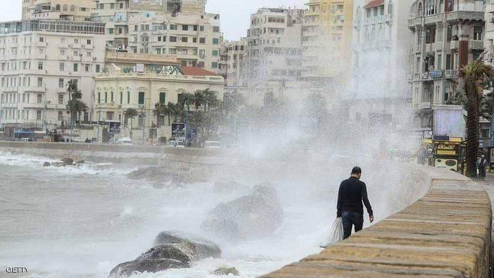 مصر تغلق 7 موانئ بسبب سوء الأحوال الجوية