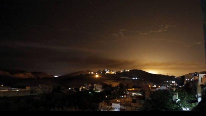 طيران الاحتلال يقصف شمال بيت لاهيا