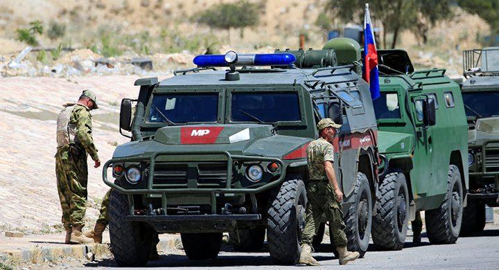 الشرطة العسكرية الروسية تبدأ بتسيير دورياتها في منبج
