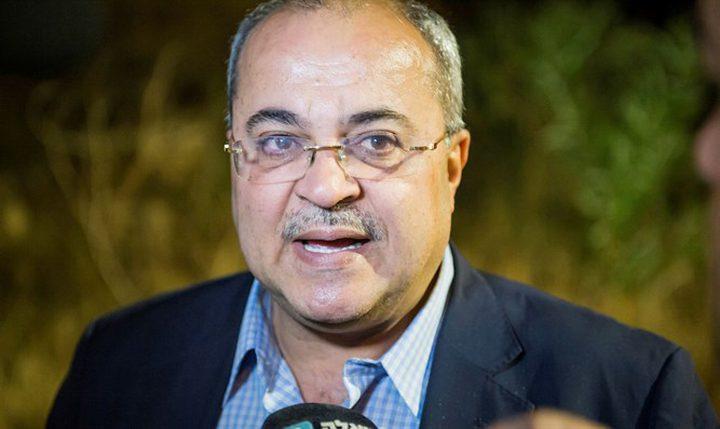 """أحمد الطيبي يعلن انفصاله عن حزب """"القائمة المشتركة"""""""