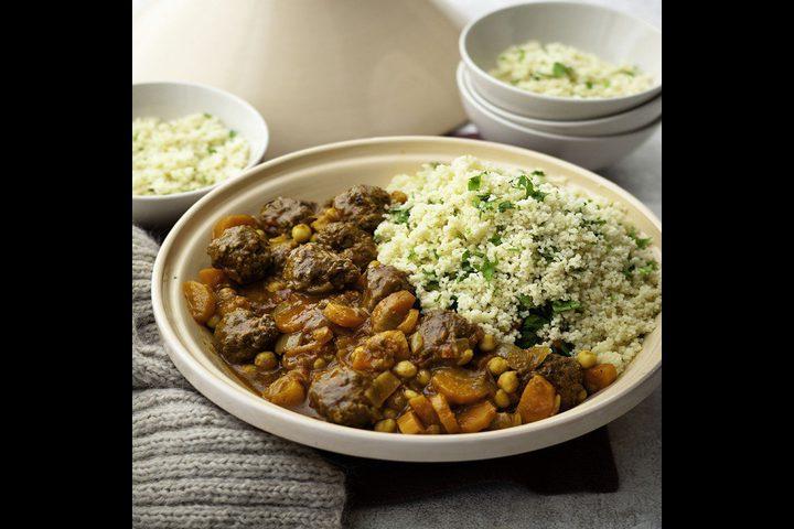 طاجن اللحم على الطريقة المغربيّة